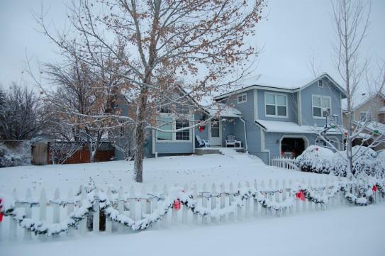 Good Morning Snow! Dec. 7, 2013