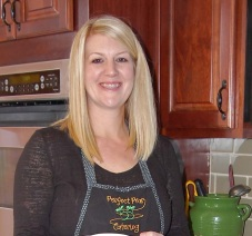 Sarah Russell has turned her love of cooking into a full-time catering business.