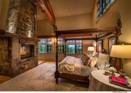 14. Master 10611Buckhorn2Int18Master Bedroom Fireplace